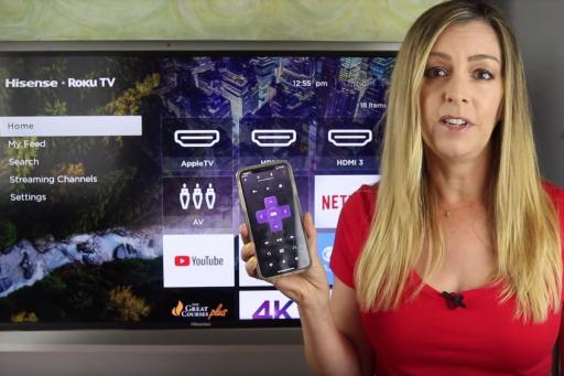 TechGadgetsCanada com reviews the Hisense R6109 4K UHD Roku