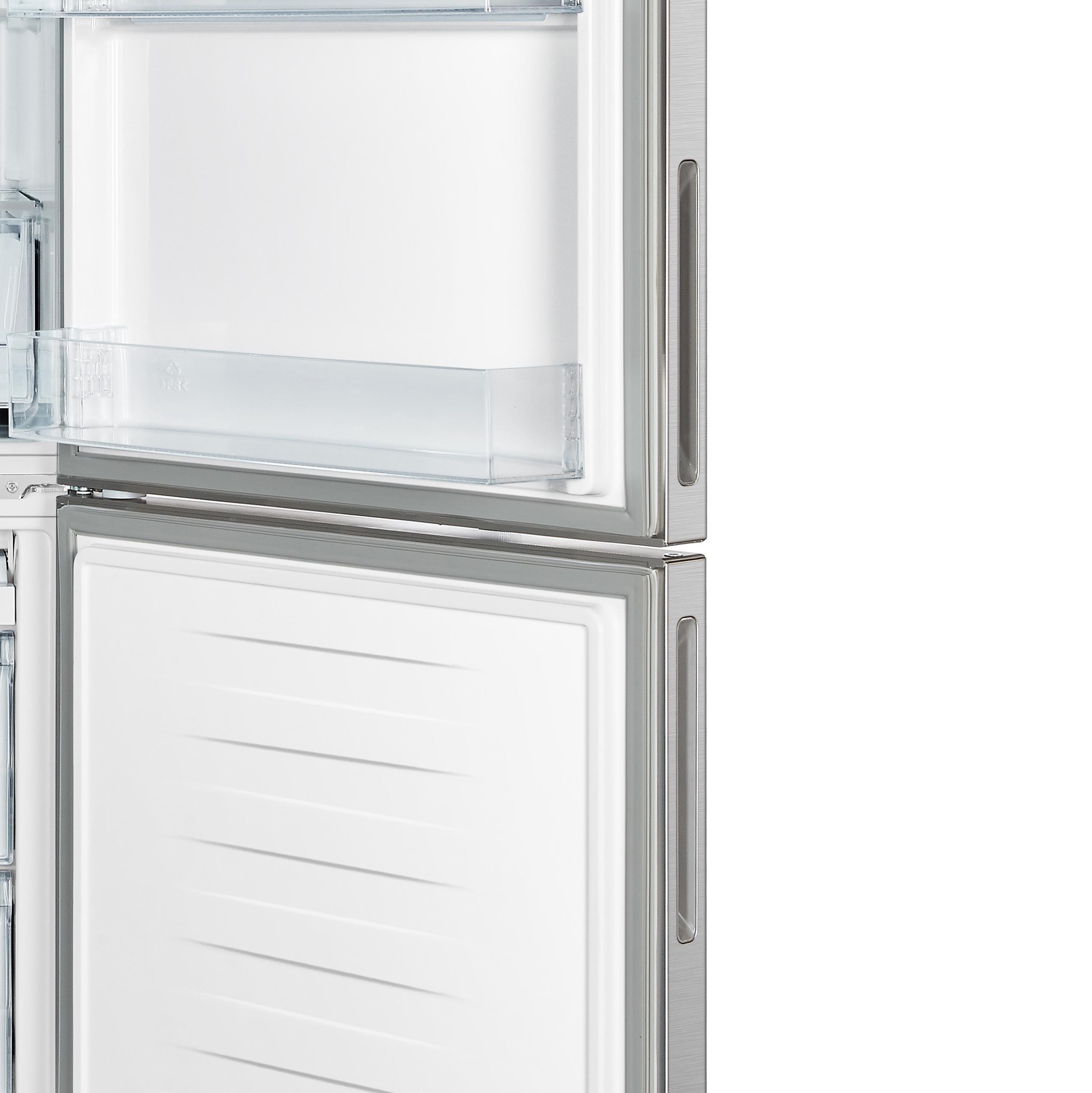 14 8 cu ft  Stainless Counter-Depth Bottom Mount Freezer