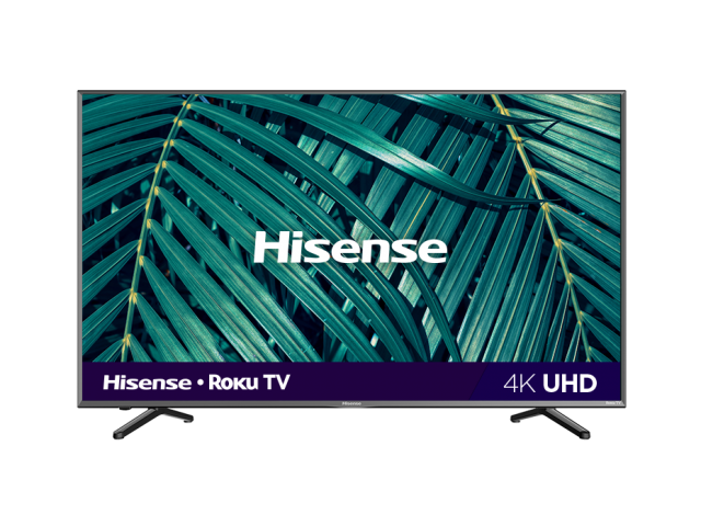 "43"" 4K UHD Roku Smart TV"