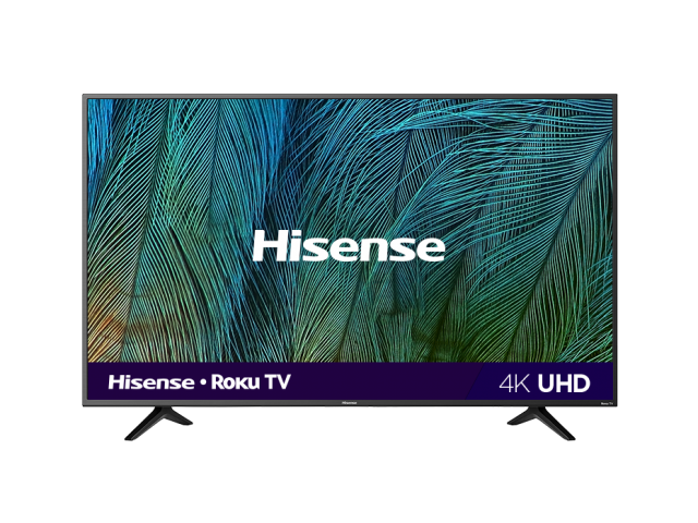 "58"" 4K UHD Roku Smart TV"