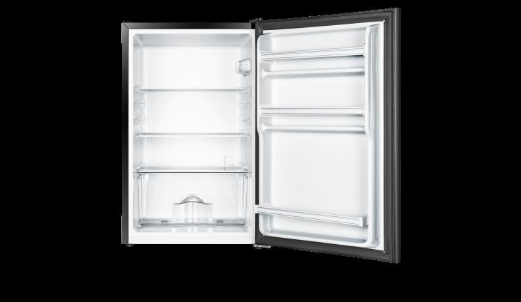 4 4 Cu Ft Black Glass Door Compact Refrigerator Rs44g1