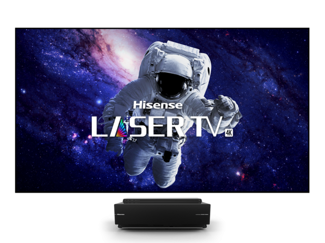 "120"" 4K Smart UHD Laser TV (Dual Colour)"